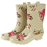 Wide Calf Short Wellies