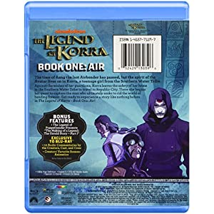 Legend of Korra: Book One: Air [Blu-ray] [Import anglais]