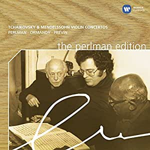 Tchaikovski : Concerto pour violon Opus 35 /  Mendelssohn : Concerto pour violon Opus 64