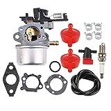 Milttor 591137 Carburetor Fuel Filter Line Shut Off Valve Fit Briggs & Stratton 590948 796608 Lawnmower Snowblower