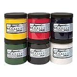 Jacquard Textile 6 Color Primary Set (Color: Primary 6 Color Set, Tamaño: Set)