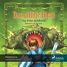 Das giftige Biest (Die Ritter der Elfenkönigin 4) (       ungekürzt) von Peter Gotthardt Gesprochen von: Giannina Spinty