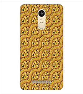 PrintDhaba Pattern D-5137 Back Case Cover for XIAOMI REDMI NOTE 3 PRO (Multi-Coloured)