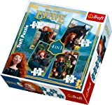 Trefl 4-in-1 Puzzle Merida The Brave Disney