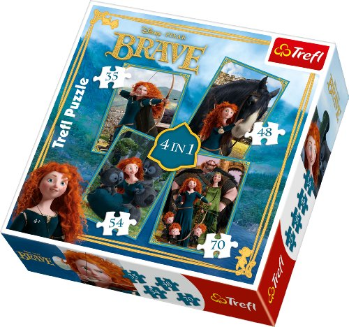 trefl-4-in-1-puzzle-merida-the-brave-disney