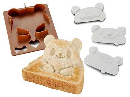 サンドイッチキャラ弁 ポップアップ パン型