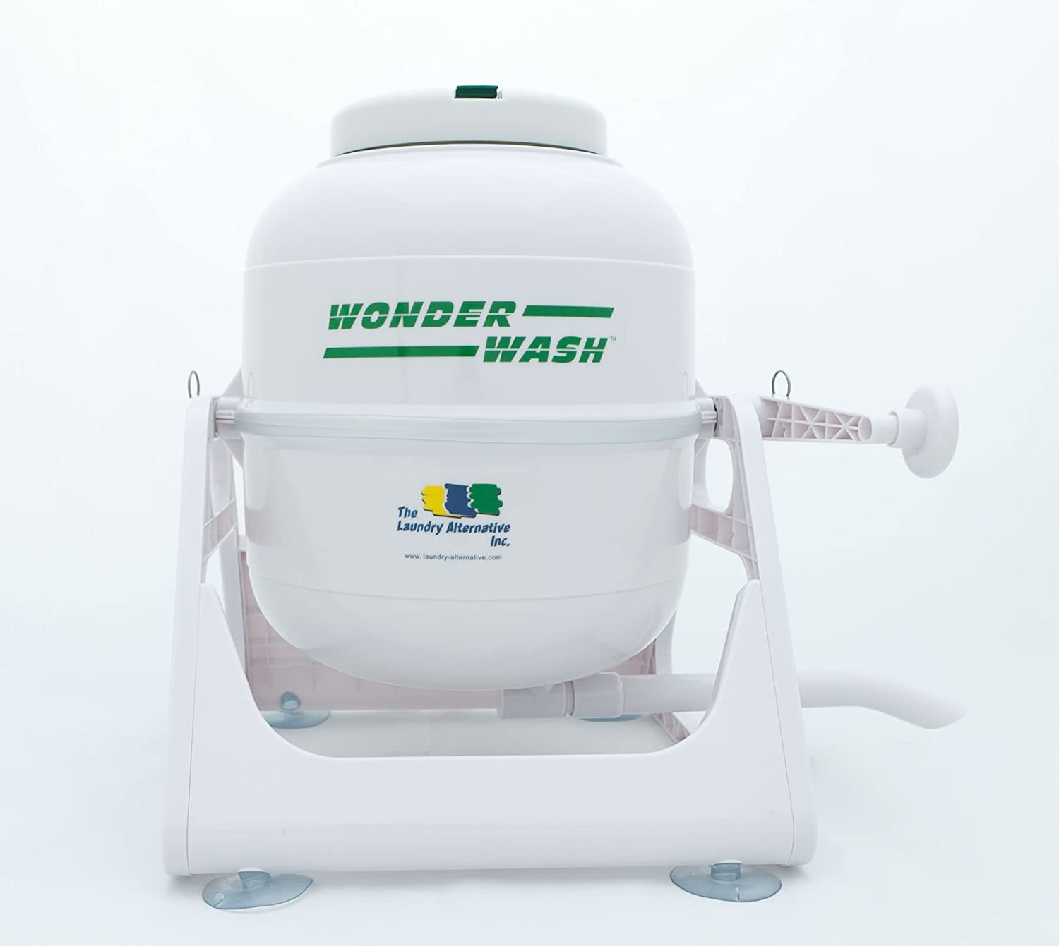Hand Crank Washing Machine Mini Portable Manual Washer Non