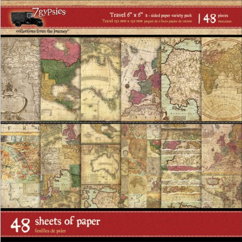 Gypsy Travels Double-Sided Paper
