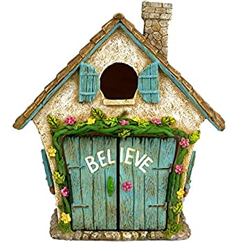 The Adorable Believe Fairy Garden House - 8