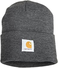 Carhartt Mens Acrylic Watch Hat,Coal…