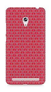 Amez designer printed 3d premium high quality back case cover for Asus Zenfone 6 (Heart Pattern2)
