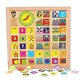 Highdas del beb� juguetes educativos tempranos de madera rompecabezas, el aprendizaje digital de la forma del Clasificador de Puzzles para ni�os de los ni�os
