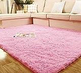 80*120cm Living Room Floor Mat/cover Carpets Floor Rug Area Rug [Pink]