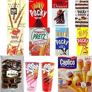 Amazon.com: Popular Great Taste Japanese Snacks(14 Packs)