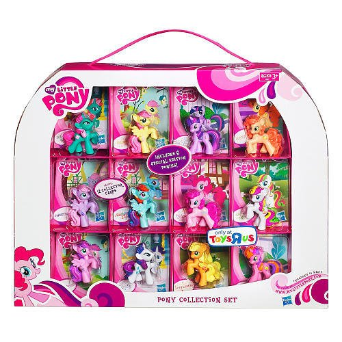 Exclusive 12Pack Pony Collection Twilight Sparkle And