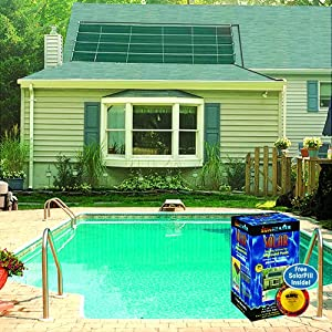 Smartpool wws601p sunheater solar pool heater for Garden pool heater