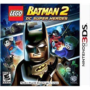 LEGO Batman 2 DC Super Heroes Nintendo 3DS Game