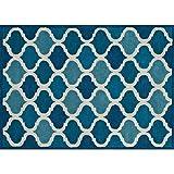 Loloi Rugs BRIGBT-07CU005076 Azure Area rug, 5-Feet by 7-Feet 6-Inch