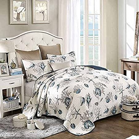 61-6JC6NfPL._SS450_ 100+ Nautical Quilts and Beach Quilts