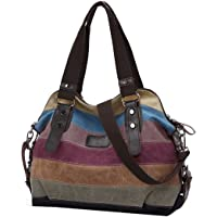 Coofit Canvas Totes Hobos Shoulder Bag (Multi Colour)