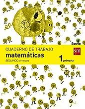 Cuaderno de matemáticas. 1 Primaria, 2 Trimestre. Savia