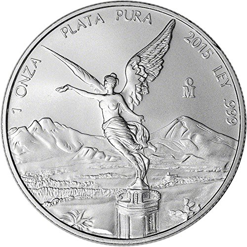 2015 MX Mexico Silver Libertad (1 oz) BU 1 Onza BU Banco de Mexico