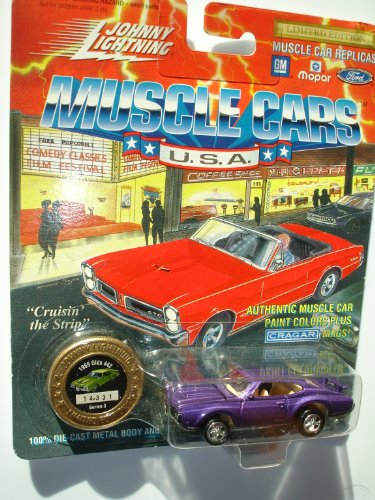 Johnny Lightning 1994 Muscle Cars USA Purple 1969 Olds 442 Series 3