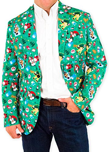 The Festive Elf Christmas Suit Coat