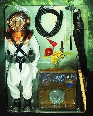 Buy Low Price Hasbro G.I. Joe Deep Sea Diver Danger of the Depths 12″ Action Figure (B000W74BTW)