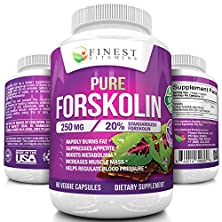 buy ★ 100% Pure Forskolin Extract *250Mg / Capsule* Coleus Forskohlii | Standardized To 20% - Research Verified, Premium Quality Supplement For Weight Loss In Women & Men - 100% Guaranteed | (60 Capsules)