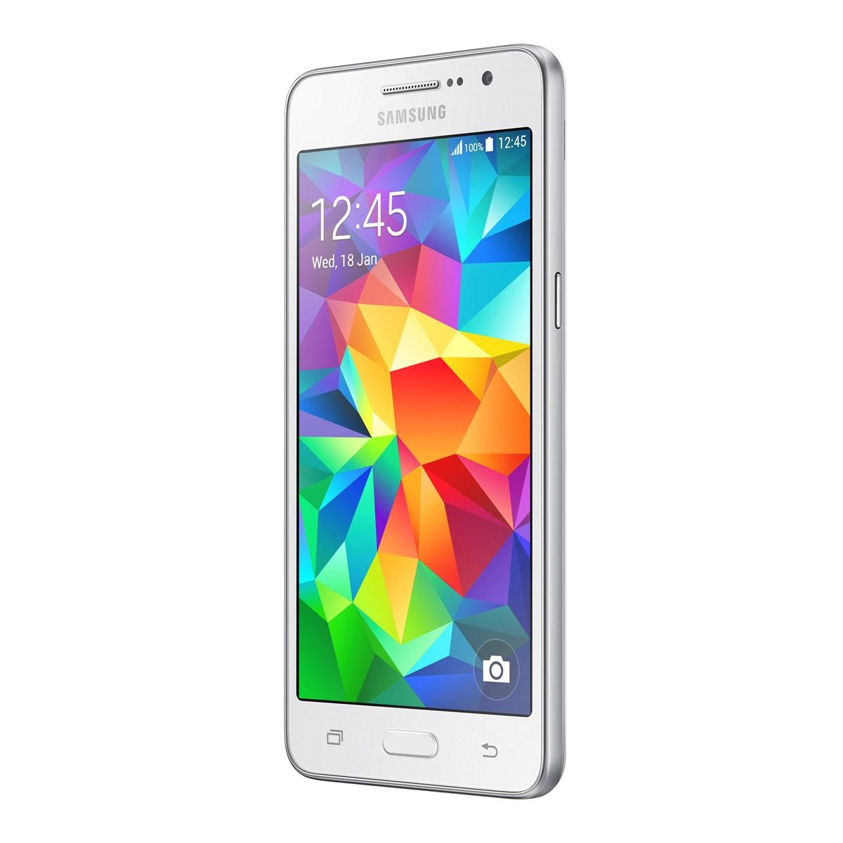 Samsung Galaxy Grand Prime DUOS G531H/DS 8GB Unlocked GSM Quad-Core Android Phone w/ 8MP Camera - White