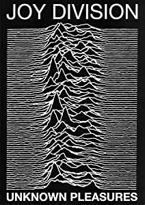 Joy Division punk Maxi Poster Unknown Pleasures Ian Curtis - 60x84 cm