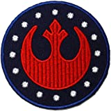 Star Wars Rebel Alliance Film Movie DIY Embroidered Sew Iron on Patch