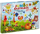 Toy - Folia 50915/1 - Jumbo Bastelkoffer 107 teilig