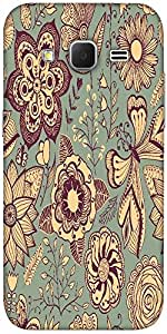 Snoogg Abstract Floral Background Solid Snap On - Back Cover All Around Prote...