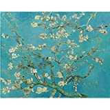 Tallenge Old Masters Collection - Almond Branches In Bloom By Vincent Van Gogh - A3 Size Premium Quality Rolled...