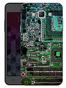 "Humor Gang Motherboard Computer Life Printed Designer Mobile Back Cover For ""Samsung Galaxy E7"" (3D, Matte, Premium Quality Snap On Case)"