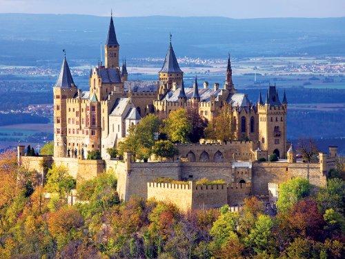 Buffalo Games Majestic Castle, Hohenzollern Castle - 750pc Jigsaw Puzzle