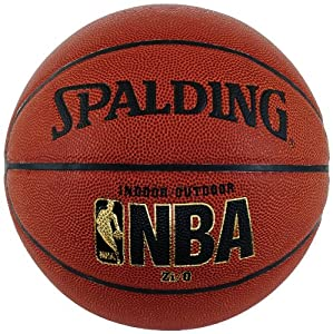 Spalding NBA Zi/O Official Size Indoor/Outdoor Basketball