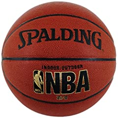 Buy Spalding NBA Zi O Official Size Indoor Outdoor Basketball by Spalding