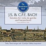 J.S. & C.P.E. Bach: Sonatas for Viola da Gamba and Harpsichord