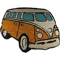 VW Campervan Doormat Orange by Giftworks