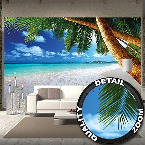 papel-pintado-fotografico-de-una-playa-con-palmeras-y-el-mar-fotomural-de-playa-paradisiaca-con-palm