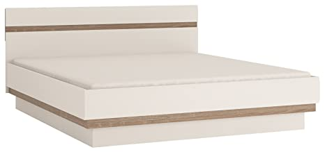 Furniture To Go Chelsea Double Bed Frame, 186 x 88 x 206 cm, White Gloss