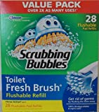 Scrubbing Bubbles Toilet Fresh Brush Flushable Refills