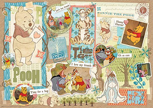 "Mega Puzzles Disney Scrapbook ""Winnie the Pooh"" 1000pc Puzzle - 1"