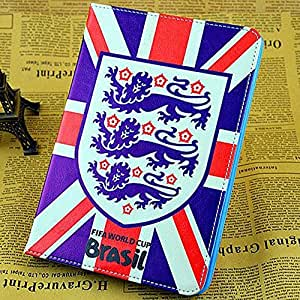 Fifa World Cup Flip Leather Case With Stand For Ipad Air / Ipad 5