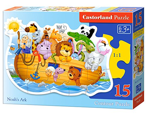 Castorland Noah's Ark Midi Jigsaw (15-Piece) - 1