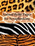 Animal Print Paper for Scrapbooking