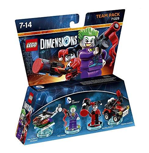 Lego Dimensions Team Pack - DC: Joker & Harley